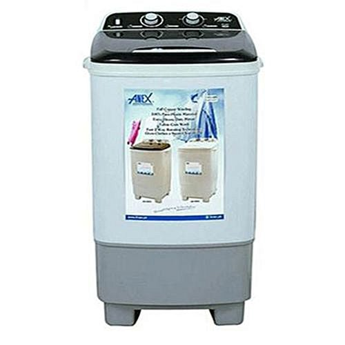 Anex Official AG 9003 Deluxe Single Tub Washing Machine Grey