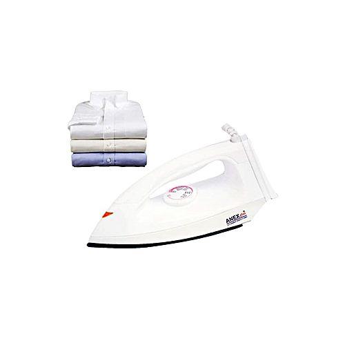Anex plus AN-1174 Light Weight Dry Iron White