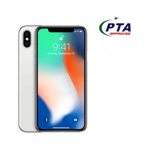 Apple iPhone X 64GB Single Sim Silver - Official Warranty
