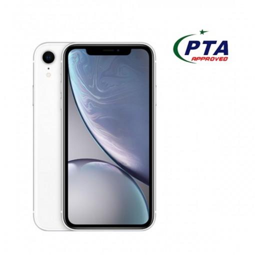 Apple iPhone XR 128GB Single Sim White - Official Warranty