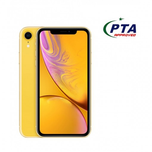 Apple iPhone XR 128GB Single Sim Yellow - Official Warranty