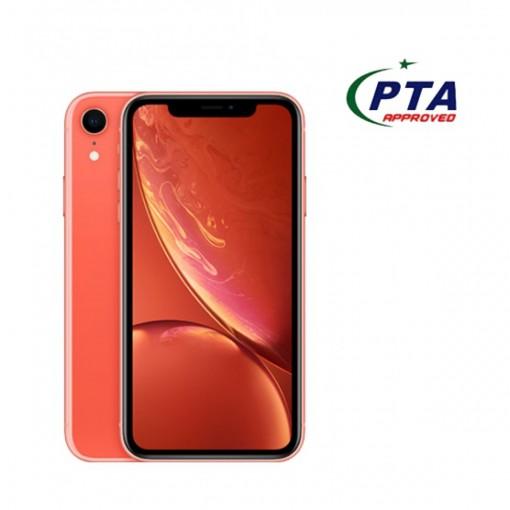 Apple iPhone XR 64GB Single Sim Coral - Official Warranty