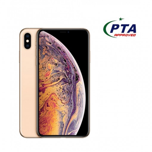 Apple iPhone XS Max 256GB Single Sim Gold - Official Warranty