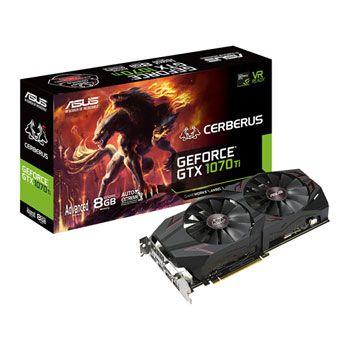 Asus Cerberus GeForce GTX 1070 Ti Advanced Edition 8GB