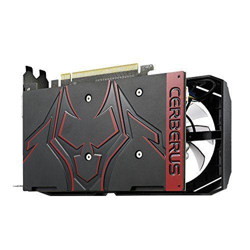 Asus Cereberus GeForce GTX 1050 Ti OC Edition 4GB