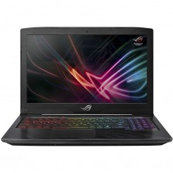 "Asus Rog Strix Hero Edition GL503GE-EN095T Gaming Laptop - 8th Gen Ci7 8750H, 16GB, 256GB SSD + 1TB HDD, GTX1050Ti 4GB GC, 15.6"" FHD, Win 10"