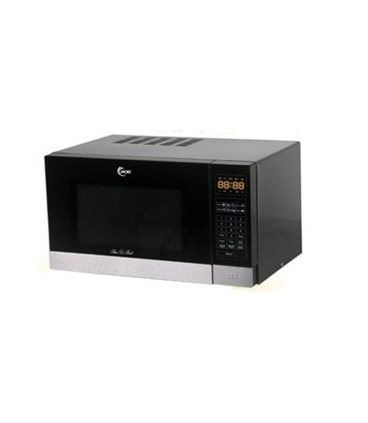 Aurora Microwave Oven 29-Liter Grill Compact  AMD901SG in Black & Silver