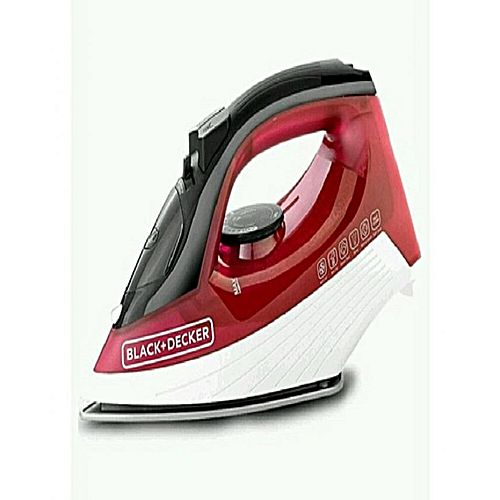 Black and Decker Steam Iron X1550 Black And Decker