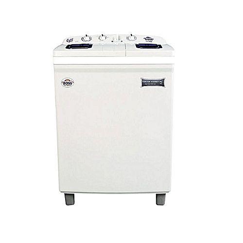 Boss Boss Boss Single Washing Machine K.E-4000 -New-BSGrey Black Top Cover(Built In Sink)