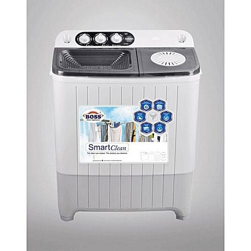 Boss Boss Single Round Shape Washing Machine Grey K.E-1500