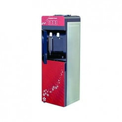 Changhong Ruba WDCR55G Water Dispenser with Refrigerator Cabinet Red