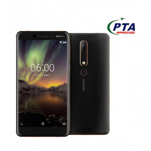 Nokia 6.1 32GB Dual Sim Black/Copper - Official Warranty