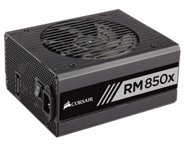 Corsair RM850X 850 Watt 80 PLUS® Gold Modular PSU
