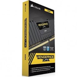 Corsair Vengeance® LPX 16GB (2x8GB) DDR4 DRAM 3200MHz C16 Memory Kit - Black (CMK16GX4M2B3200C16)