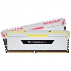 Corsair Vengeance RGB 16GB (2x8GB) DDR4 3200 C16 Desktop Memory (White, CMR16GX4M2C3200C16W)