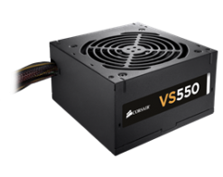 Corsair VS550 550 Watt 80 PLUS® White PSU