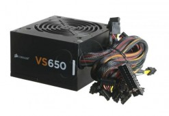 Corsair VS650 650 Watt 80 PLUS® White PSU