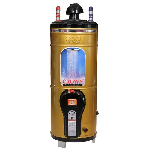 Crown 15 Gallons Gas Geyser in Golden