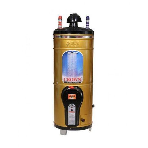 Crown 15 Gallons Gas Geysers Gauge 14 in Golden
