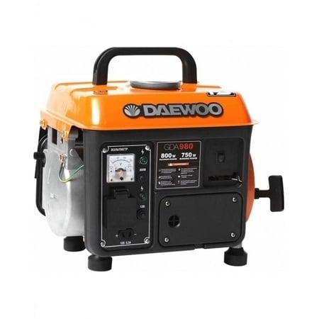 Daewoo 0.72 kW Petrol Generator GDA980