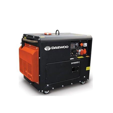 Daewoo 5.3 kW Electric Start Diesel Generator DDAE6100SE
