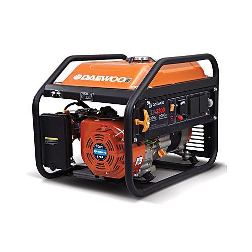 Daewoo Generator – Orange – GDA 3800 E