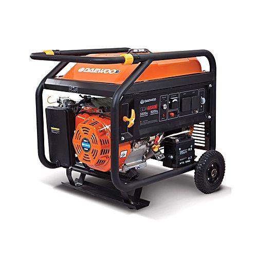 Daewoo Generator – Orange – GDA 8000 E