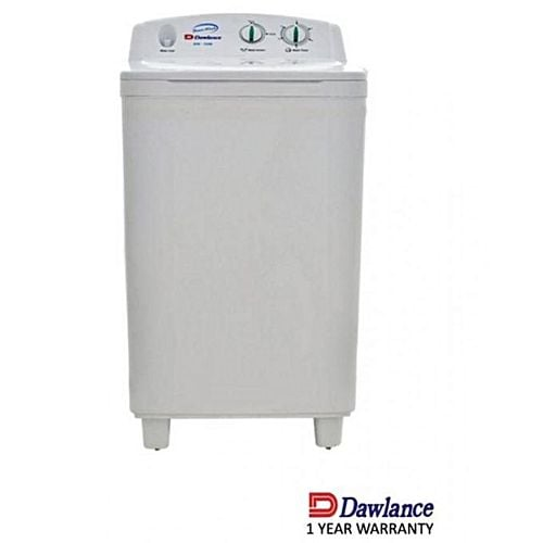 Dawlance DW5100 HZP Washing Machine 6.5 KG Single Tub White