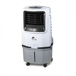 E-Lite Appliances AC/DC Rechargeable Evaporative Air Cooler Fan – White