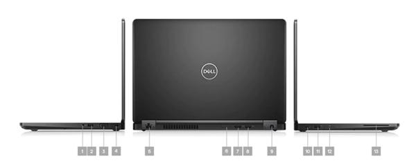 Latitude 5490 Laptop - Ports & Slots