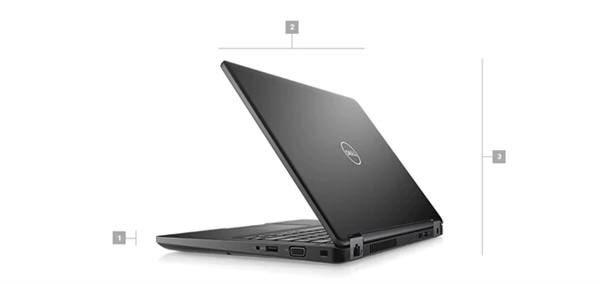 Latitude 5490 Laptop - Dimensions & Weight