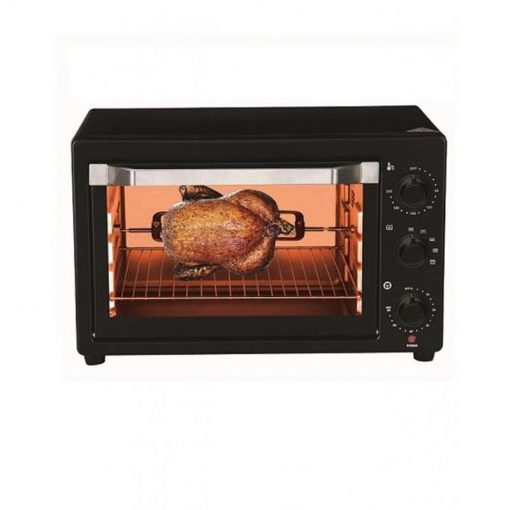 E-Lite ETO-221R Toaster Oven 22-LTR Black With Official Warranty