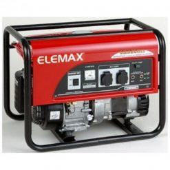 Elemax 2.6 kVA Petrol Generator SH3200EX – Recoil Start – Red