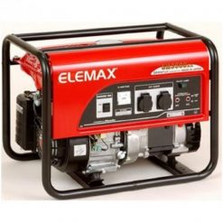 Elemax 3.3 kVA Petrol Generator SH3900EX Recoil Start – Red