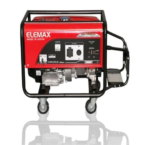 Elemax Generator in Black & Red SH 7600 EX