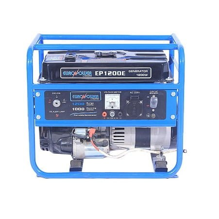 Euro Power 1 KW Battery Powered Generator With Gas Kit EP-1200 E