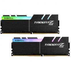 G.SKILL TridentZ RGB Series 16GB (2 x 8GB) DDR4 SDRAM 2666 Desktop Memory F4-2666C18D-16GTZR