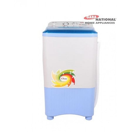 Gaba National DLX Single Tub Washing Machine GNW-1208