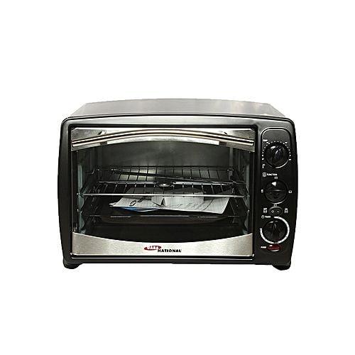 Gaba National GN1523 Electric Oven Oven Toaster, Rotisserie & Bar B Q Black