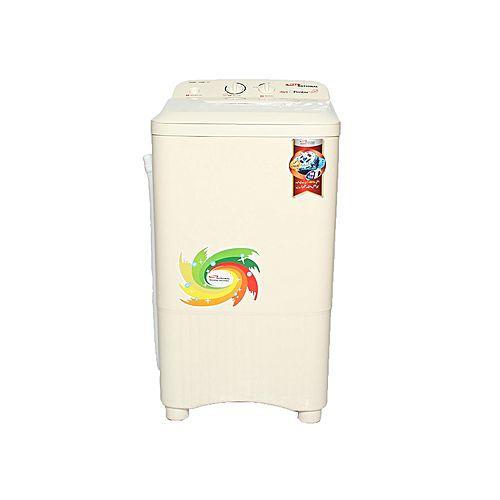 Gaba National GNW-1208 STD Single Tub Washing Machine Beige