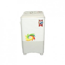 Gaba National GNW-1208 STD Single Tub Washing Machine Gray