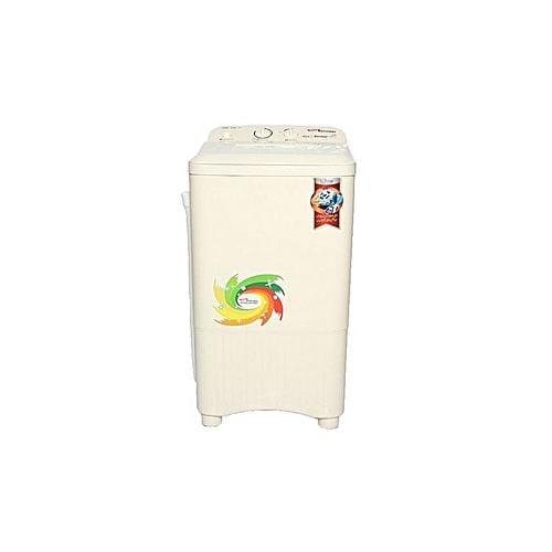 Gaba National GNW1208 STD Single Tub Washing Machine Beige