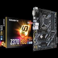 Gigabyte Z370 HD3 Intel Z370 Ultra Durable Socket 1151 Motherboard with CrossFire Support