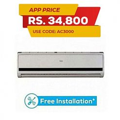 Haier 12ECO – Air Conditioner – 1.0 Ton – White