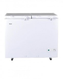 Haier HDF-325H - Double Door Deep Freezer - 325 L - White