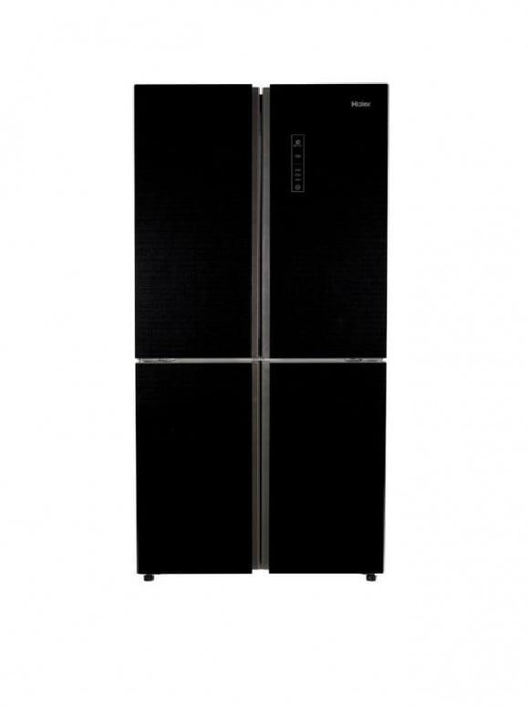Haier Hrf-568TGB - French Door Direct Cooling Refrigerator - 480 L - BLACK