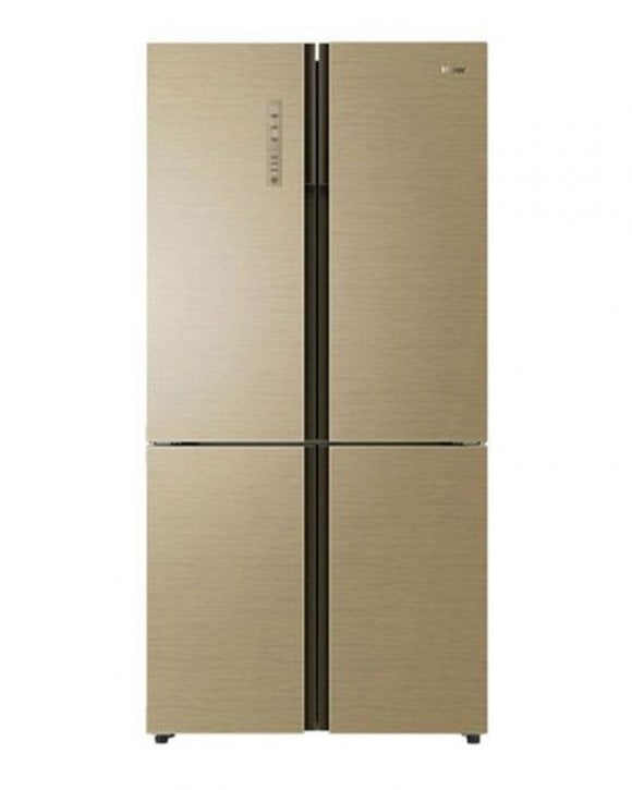 Haier Hrf-568Tgg - French Door Direct Cooling Refrigerator - 480 L - Golden