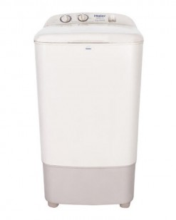 Haier HWM-80-35 - Semi-Automatic Washing Machine - 8 Kg - Off White