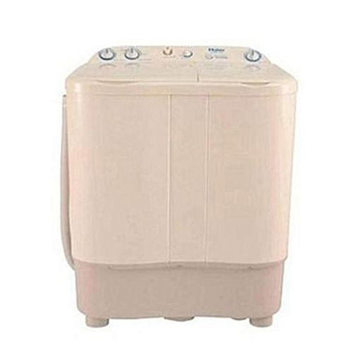 Haier HWM80000S SemiAutomatic Top Load Washing Machine 8 kg Milky White