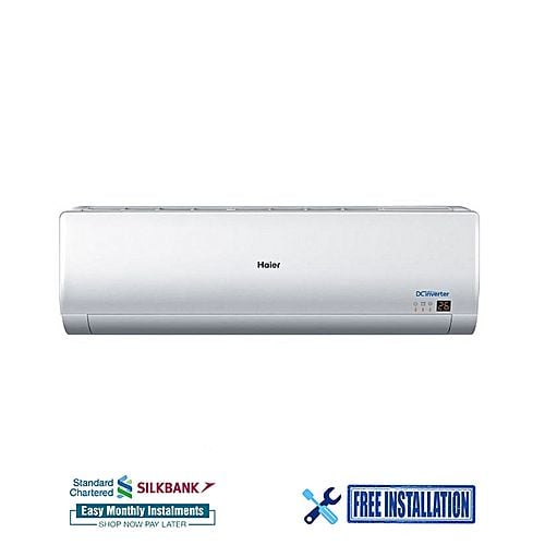 Haier Inverter Air Conditioner 1.0 ton HSU12H White